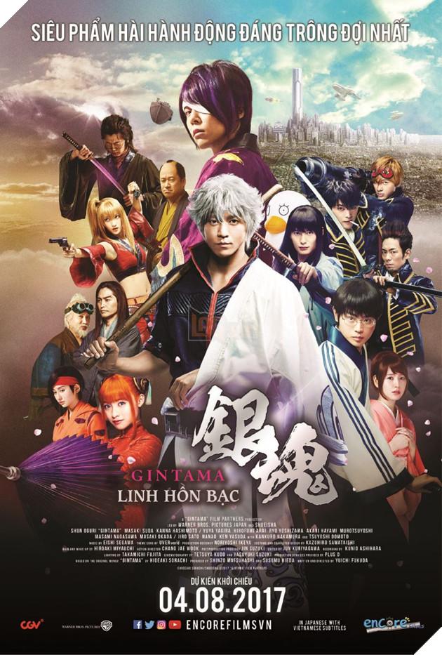 """Live-action của bộ manga """"bựa"""" nhất mọi thời đại """"Gintama"""" ra mắt tại Việt Nam 4"""
