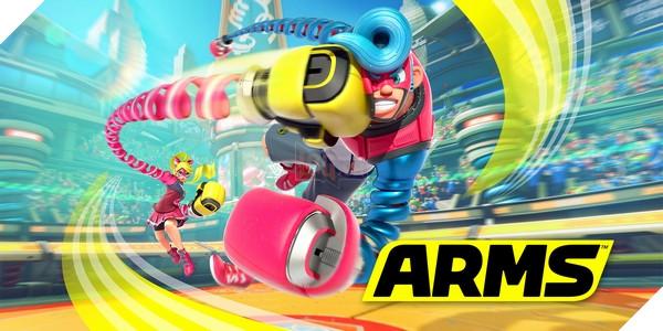 Tựa game ARMS tuy là thương hiệu mới nhưng đã được cộng đồng đón nhận tích cực