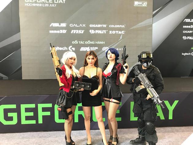 Xuất hiện hot girl 'đốt mắt' các game thủ tham dự NVIDIA GeForce Day 2017 Việt Nam
