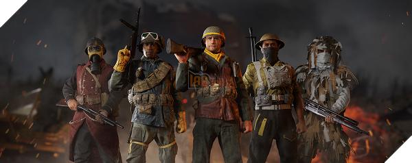 Có tổng cộng 5 Đơn vị tham giaPrivate BetacủaCall of Duty: WWII
