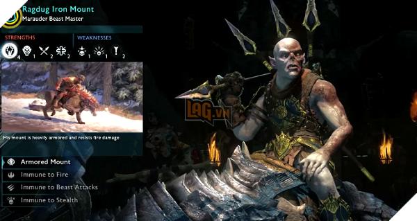 Hệ thống Nemesis lừng danh cũng sẽ được mang sang tựa game di động này