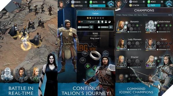 Game Mobile dựa trên Middle-Earth: Shadow of War chuẩn bị ra mắt mùa thu năm nay