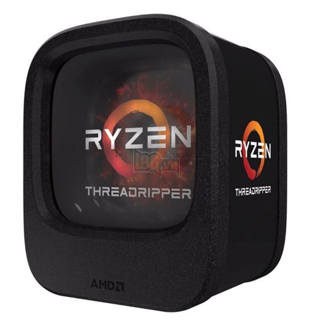 """Sau khi """"khoe hàng"""" đóng gói đẹp mắt của Threadripper, AMD hôm nay tại  SIGGRAPH 2017 đã chính thức công bố cấu hình và giá bán của 3 CPU Ryzen  Theardripper ..."""