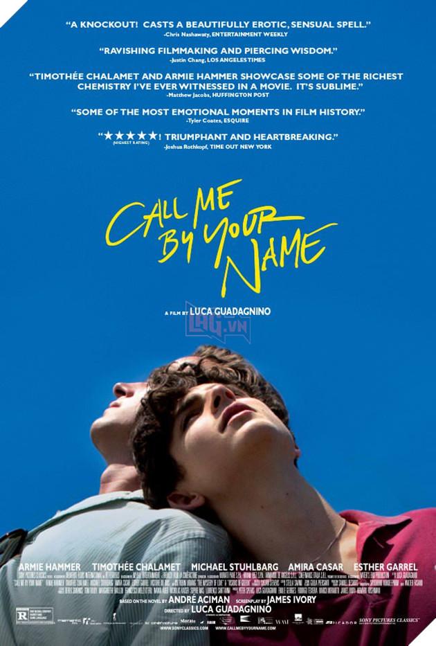 Phim LGBT gây sốt tại LHP Sundance 'Call Me By Your Name' tung poster và trailer chính thức