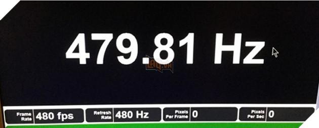 Lộ diện màn hình nhanh nhất hành tinh với tần số quét lên đến 480Hz 2