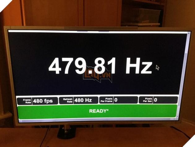Lộ diện màn hình nhanh nhất hành tinh với tần số quét lên đến 480Hz