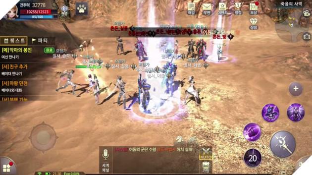 Thine - Siêu phẩm MMORPG cực giống Order & Chaos cho Mobile