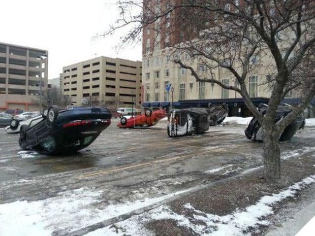 16 tai nạn đỉnh cao chỉ có thể là của hội mới học lái ô tô - Ảnh 9.
