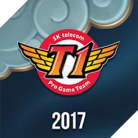 Huy hiệu SKT T1 2017