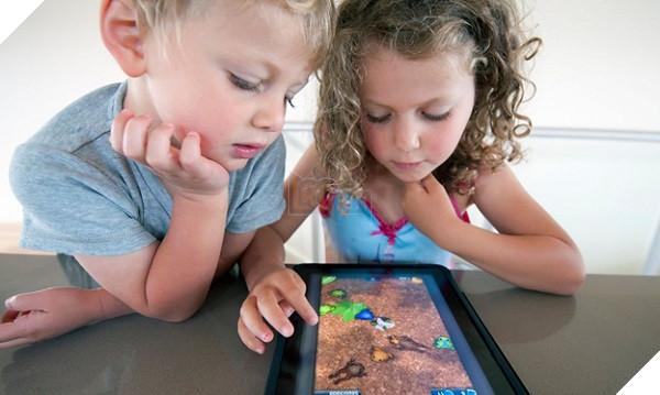Image result for trẻ em và game