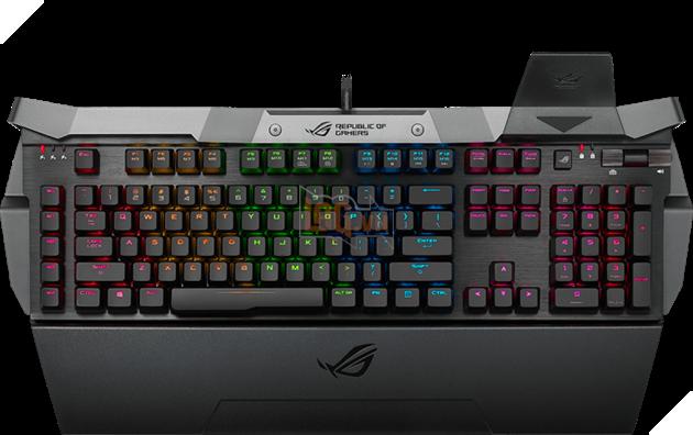 ASUS đem RGB lên bàn phím chơi game ROG Horus