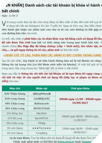 VLTK Web: Hết Auto đánh quái lại đến Auto ks đồ hành hạ game thủ 3