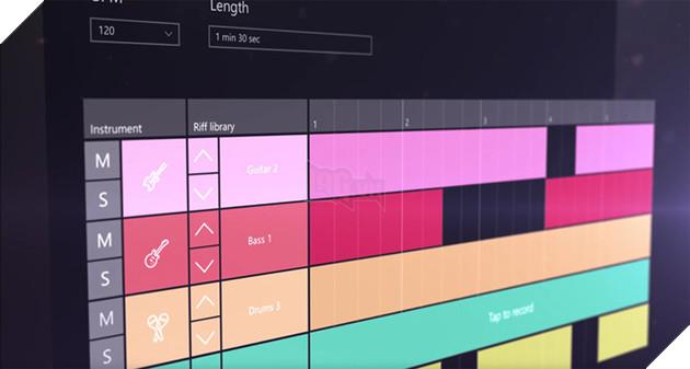 Microsoft có thể sẽ ra mắt tính năng Groove Music Maker, giúp sáng tạo âm nhạc.