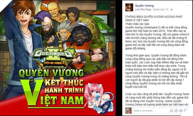 Quyền Vương Getamped 2 chào tạm biệt game thủ Việt sau 8 năm gắn bó 4