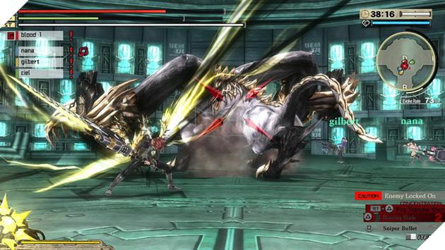 Bandai Namco tung trailer giới thiệu bộ đôi game God Eater dành cho mobile và console 3