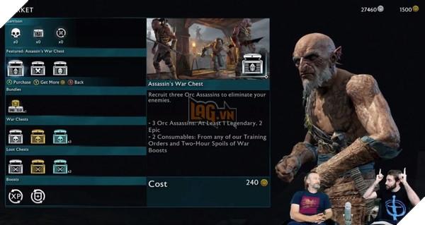 Người chơi vô tư dùng Cheat Engine trong Middle-earth: Shadow of War 2