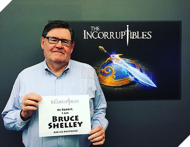 Bruce Shelley, thiết kế trưởng của game Đế chế.