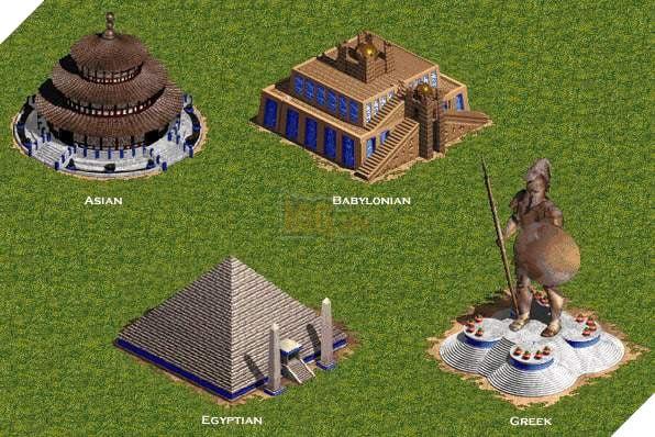 Wonder (Kì quan), công trình xác định chiến thắng trong Đế chế.