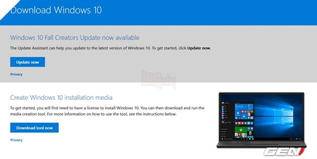 Windows 10 Fall Creators Update Redstone 3 đã được phát hành, và đây là 3 cách để tải và cài đặt 3