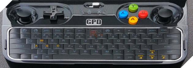 Rò rỉ hình ảnh máy tính chơi game bỏ túi GPD Win 2 3