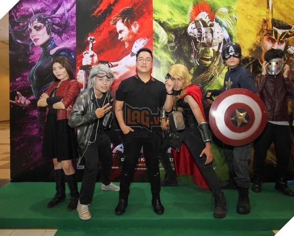 VJquen thuộc,Tùng Leo, bên cácSiêu anh hùng Marvel