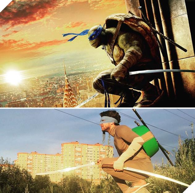 Thánh cosplay rẻ tiền người Nga dùng đồ đồng nát để biến hình thành các nhân vật - Ảnh 31.
