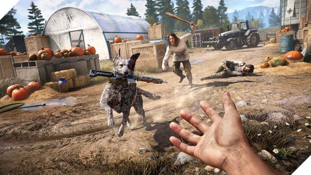 Far Cry 5 tung trailer mới: đua xe bắn súng, lái máy bay thả bom như phim hành động