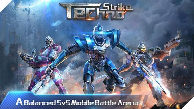 """Tải ngay Techno Strike - FPS online cho người chơi điều khiển hàng loạt robot """"chất lừ"""""""
