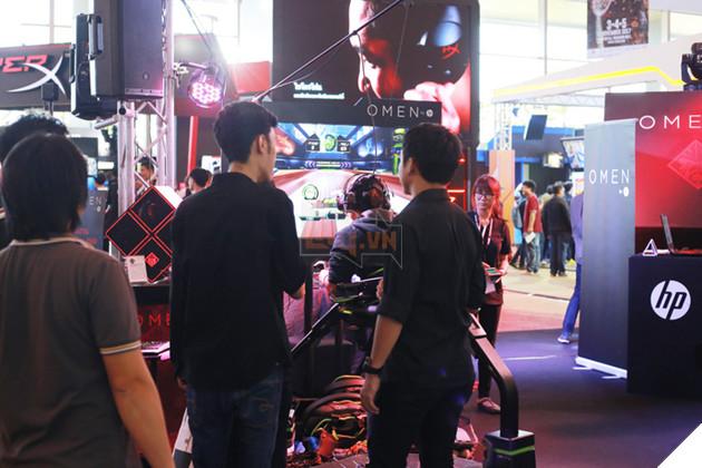 Omen by HP, một hãng gaming gear rất đáng chú ý, song chưa xuất hiện tại Việt Nam.