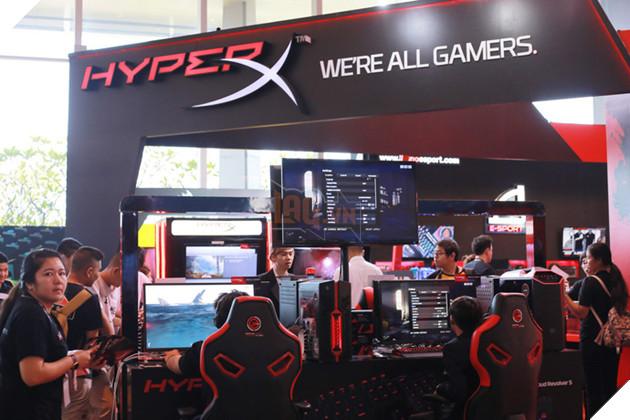 Hyper X của Kingston, tương đối quen thuộc!