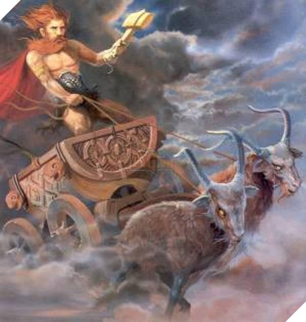 Phiên bản thần thoại của Thor là thế này đây ạ!