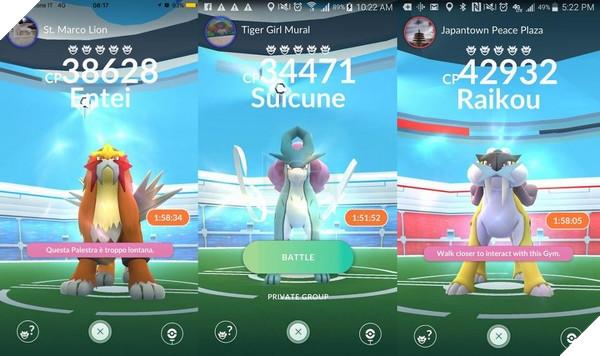 Pokemon huyền thoạiluôn là niềm khao khát của nhiều game thủPokemon GO