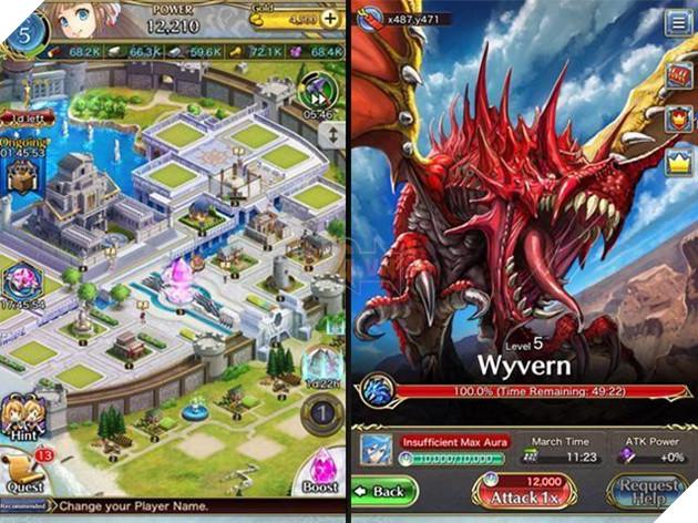 Sứ Mệnh Rồng và Crystal of Re:Union là 2 cái tên đang thu hút sự chú ý của game thủ Việt thời gian gần đây