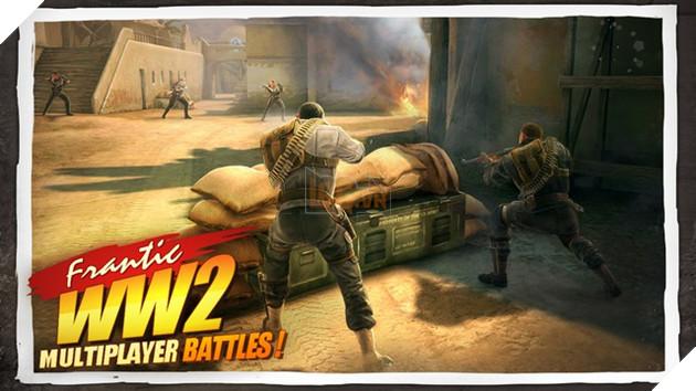 Chưa được chơi Call of Duty: WW2, đừng lo hãy thử 8 game mobile này cho đỡ vật