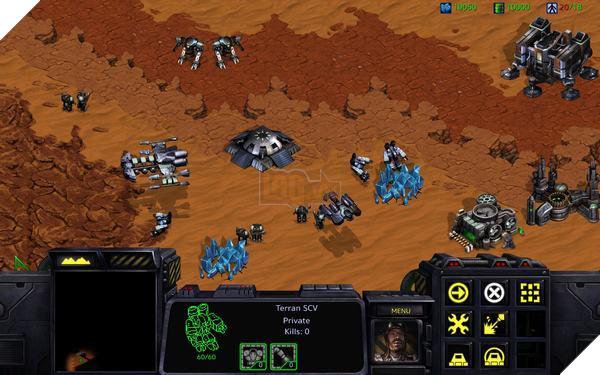 """StarCraftban đầu """"giốngWarcraftgắn vỏ bọc khoa học - viễn tưởng"""""""