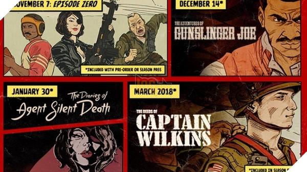 BảnDLCThe Freedom Chroniclesmang đến 3 nhân vật hoàn toàn mới