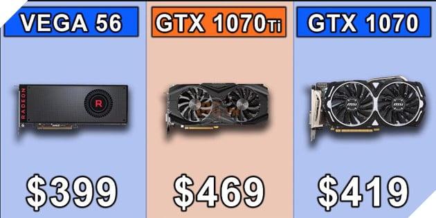 So sánh sức mạnh GTX 1070 vs GTX 1070 Ti vs Vega 56 qua các tựa game bom tấn hiện nay