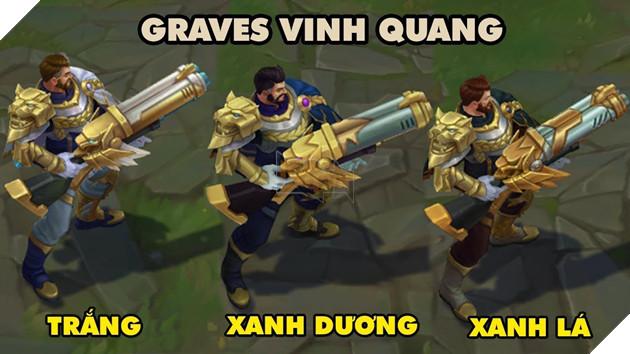 Không một lời báo trước, Graves Vinh Quang - phần thưởng xếp hạng mùa 7 chính thức đến tay người chơi LMHT