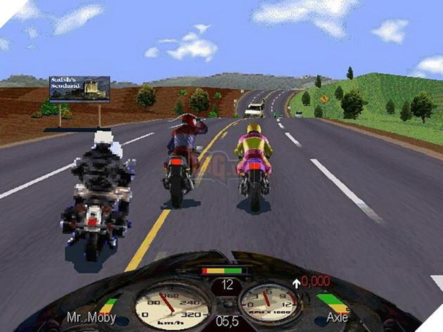 Road Rage - Game đua xe gần giống hoài niệm Road Rash - chính thức ra mắt game thủ