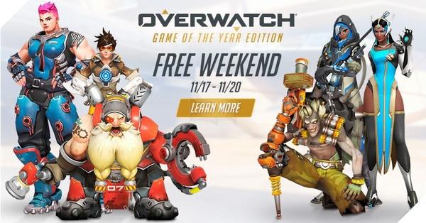 Tiếp tục chơi Overwatch miễn phí những ngày cuối tuần nào