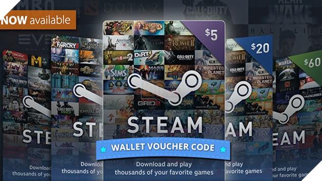 Steam Wallet tại Việt Nam