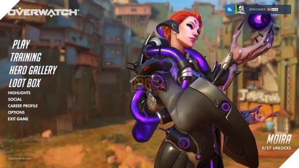 Moira đã đổ bộ server chính thức của Overwatch, nhanh vào chơi thử nào