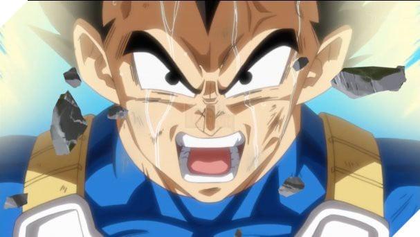 Vegeta cố gắng để đạt được Bản năng vô cực giống như Goku