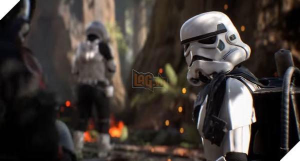 Phần chơi đơn củaStar Wars Battlefront 2mang tính chất cầu nối