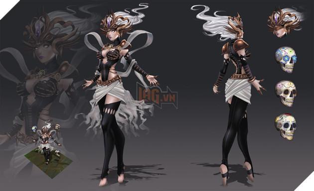 Syndra Oan Hồn - quá hợp cho một trang phục Halloween nhỉ