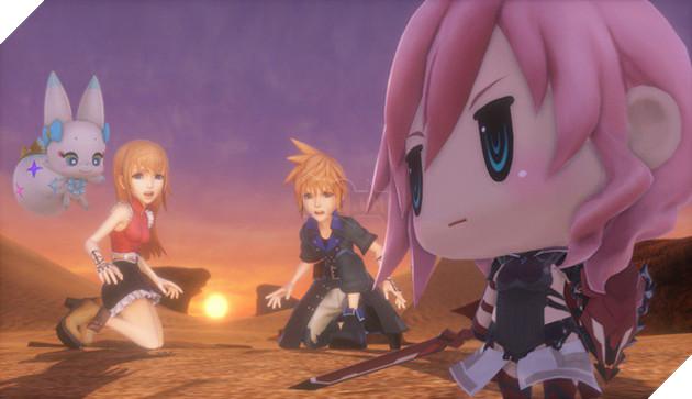 World of Final Fantasy: Meli-Melo - Game di động mới được hé lộ từ Square Enix