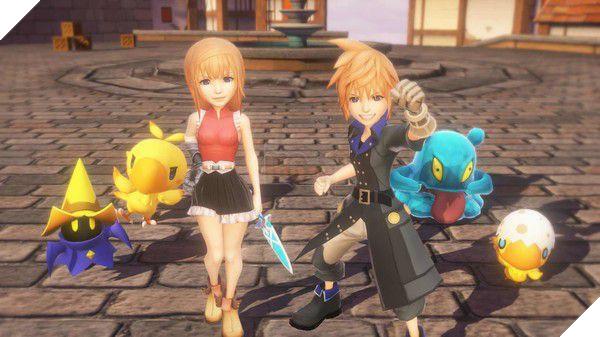 Square Enix bất ngờ giới thiệu tựa game di động mới với tên gọi World of Final Fantasy: Meli-Melo