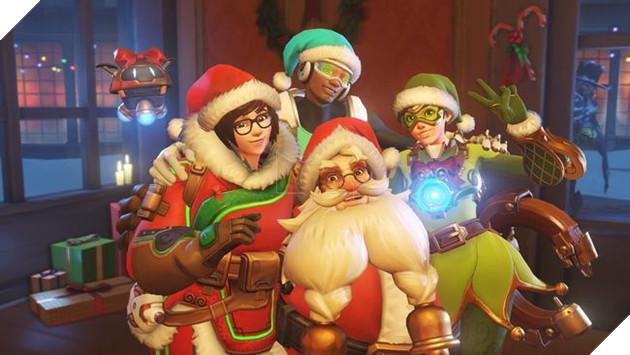 Các bạn đã chuẩn bị đón giáng sinh trong Overwatch chưa nào?