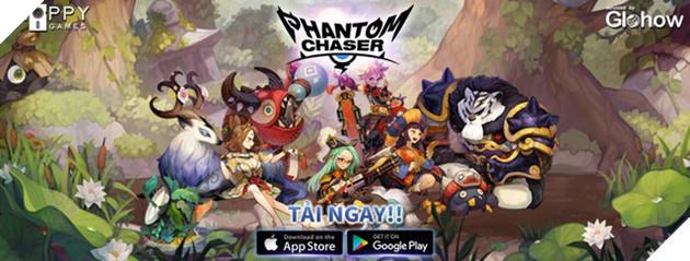 Phantom Chaser đã chính thức mở cửa đón người chơi