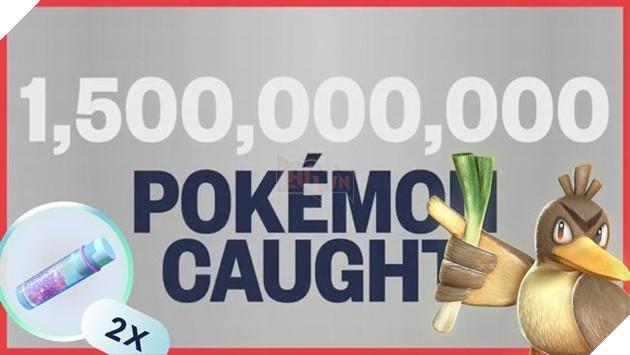 Đã cóhơn 1,500 Pokemonbị thu phục trong sự kiệnGlobal Catch Challenge